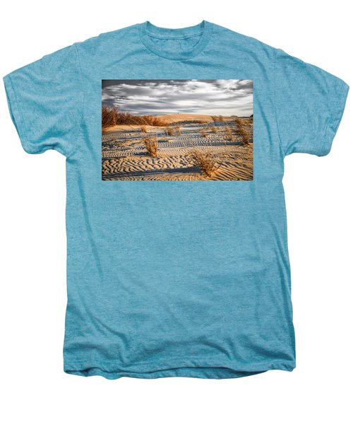Sand Dune Wind Carvings Men's Premium T-Shirt