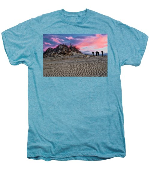Sand Dunes Of Kitty Hawk Men's Premium T-Shirt