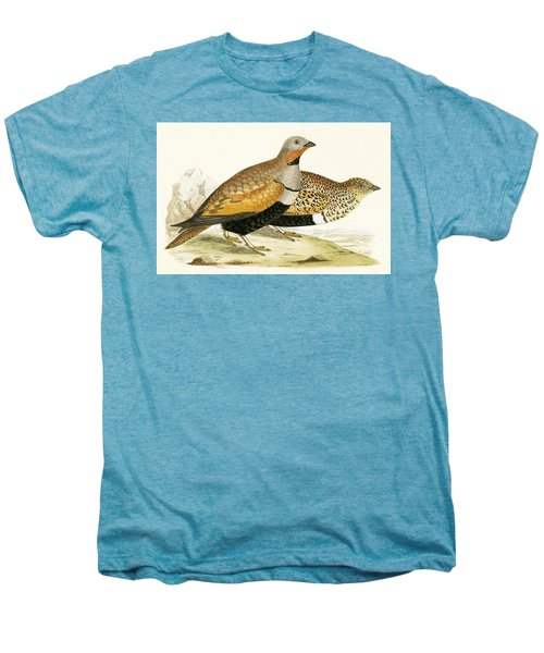 Sand Grouse Men's Premium T-Shirt by English School