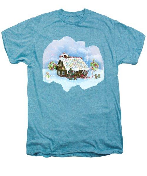 Santa Loves Cookies Men's Premium T-Shirt