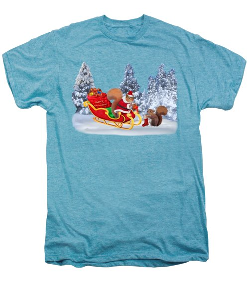 Santa's Little Helper Men's Premium T-Shirt