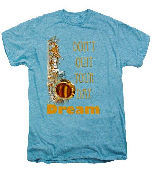 Saxophone Fine Art Photographs Art Prints 5019.02 Men's Premium T-Shirt