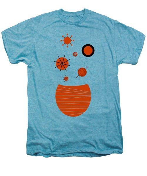 Scandinavian Floral Men's Premium T-Shirt