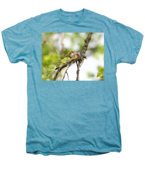 Scissortail Ballet Men's Premium T-Shirt by Robert Frederick