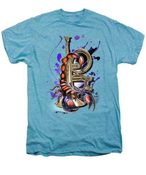 Scorpio Men's Premium T-Shirt by Melanie D
