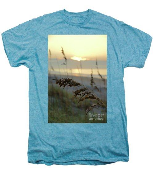 Sea Oats At Sunrise Men's Premium T-Shirt