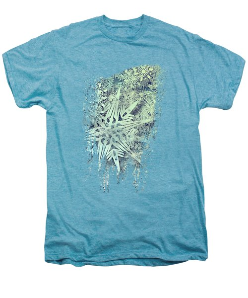 Sea Of Flakes Men's Premium T-Shirt by AugenWerk Susann Serfezi