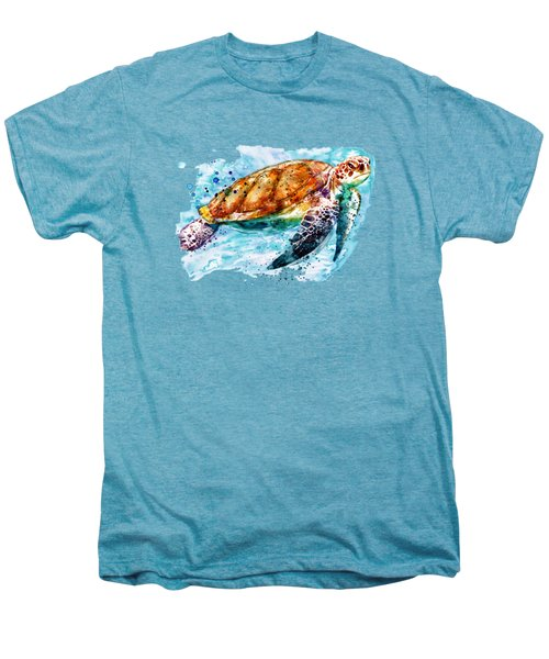 Sea Turtle  Men's Premium T-Shirt by Marian Voicu