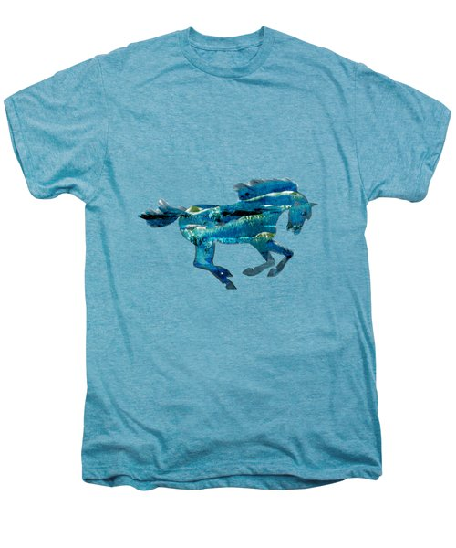 Seahorse By V.kelly Men's Premium T-Shirt