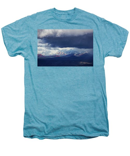 Sedona Area Third Winter Storm Men's Premium T-Shirt