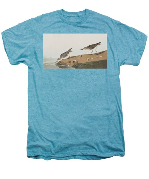 Semipalmated Sandpiper Men's Premium T-Shirt by John James Audubon