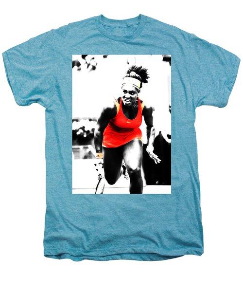 Serena Williams Go Get It Men's Premium T-Shirt