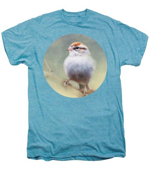 Serendipitous Sparrow  Men's Premium T-Shirt by Anita Faye