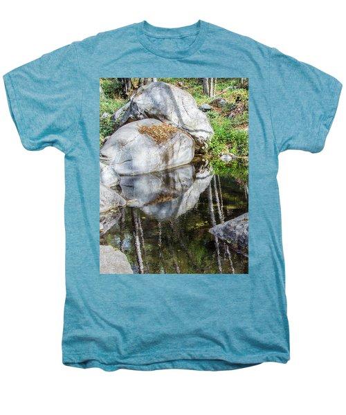 Serene Reflections Men's Premium T-Shirt