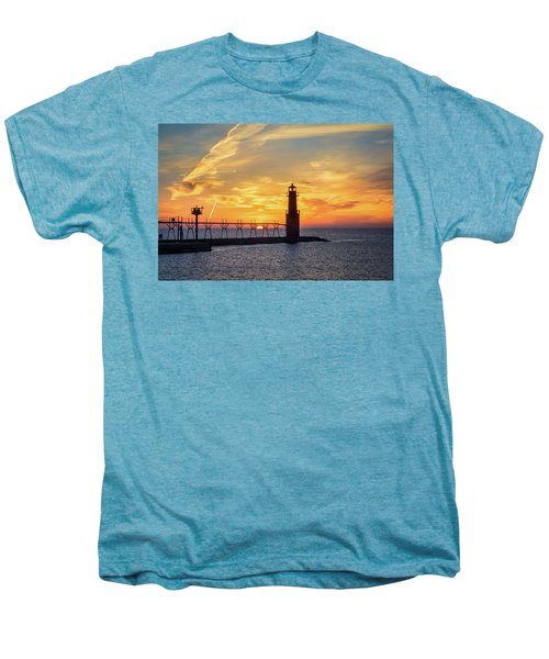 Men's Premium T-Shirt featuring the photograph Serious Sunrise by Bill Pevlor