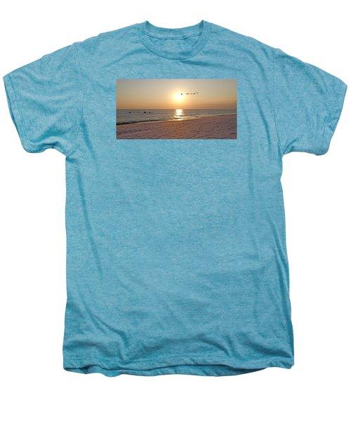 Shackleford Banks Sunset Men's Premium T-Shirt by Betsy Knapp