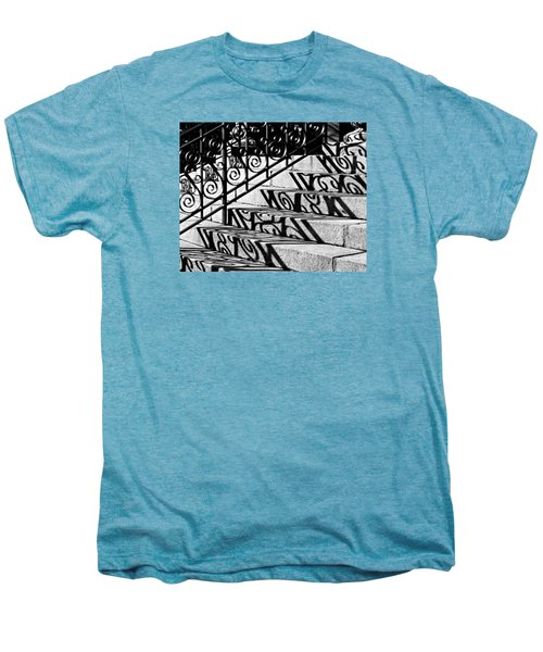 Shadow On The Rotunda Stairs Men's Premium T-Shirt