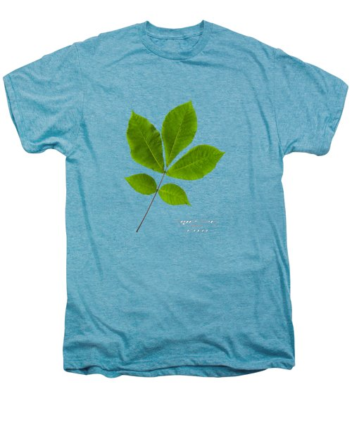 Men's Premium T-Shirt featuring the photograph Shagbark Hickory by Christina Rollo