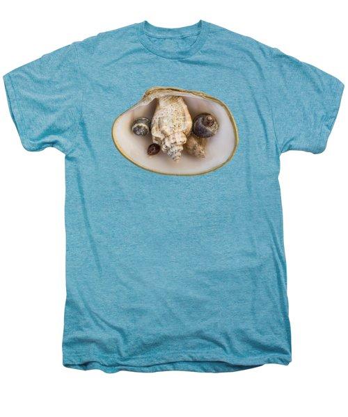 Shells Within A Sea Shell Men's Premium T-Shirt