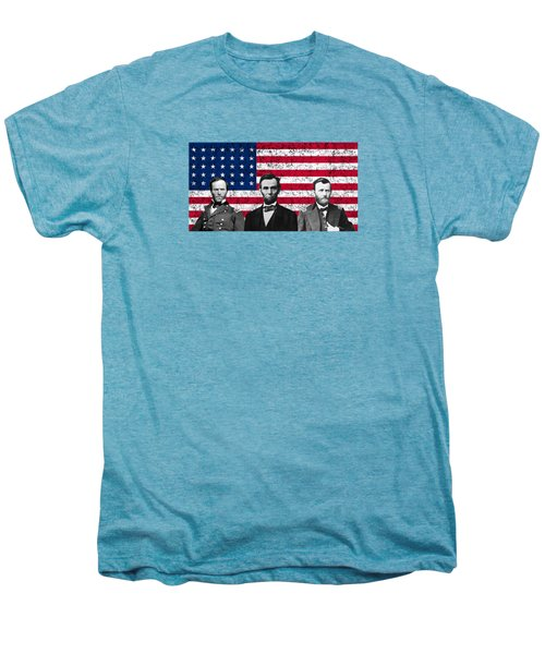 Sherman - Lincoln - Grant Men's Premium T-Shirt by War Is Hell Store