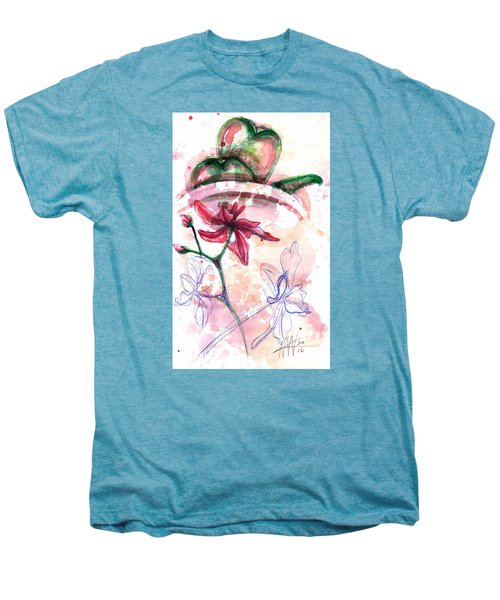 Shiraz Orchid II Men's Premium T-Shirt