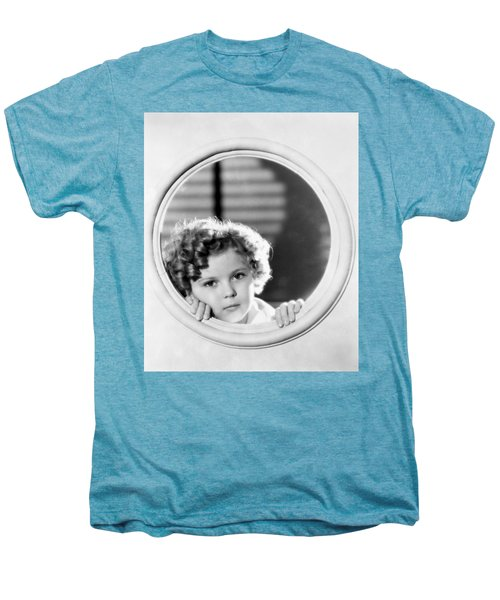 Shirley Temple (1928-2014) Men's Premium T-Shirt by Granger