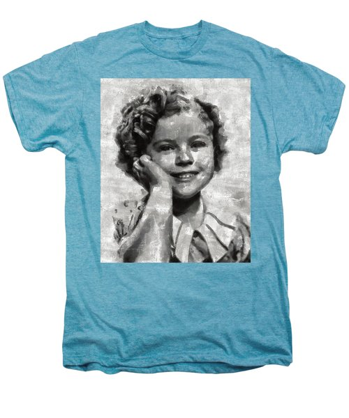 Shirley Temple By Mary Bassett Men's Premium T-Shirt by Mary Bassett