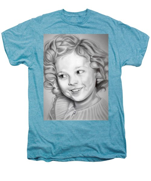 Shirley Temple Men's Premium T-Shirt by Fred Larucci