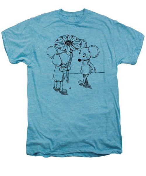 Shy Men's Premium T-Shirt