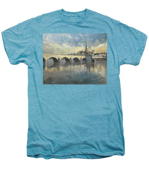 Sint Servaas Bridge Maastricht Men's Premium T-Shirt
