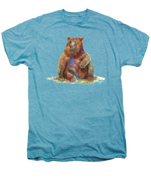 Sitting Bear Men's Premium T-Shirt