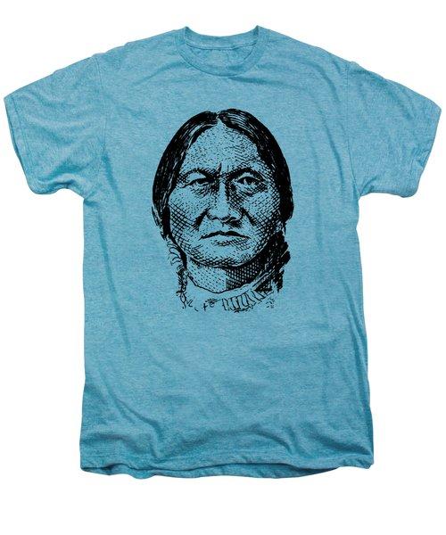 Sitting Bull Graphic Men's Premium T-Shirt