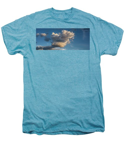 Skies Over Ghost Ranch New Mexico Men's Premium T-Shirt