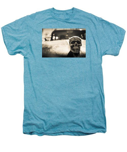 Skull Car Men's Premium T-Shirt by Lora Lee Chapman