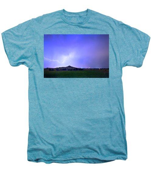 Men's Premium T-Shirt featuring the photograph Sky Monster Above Haystack Mountain by James BO Insogna