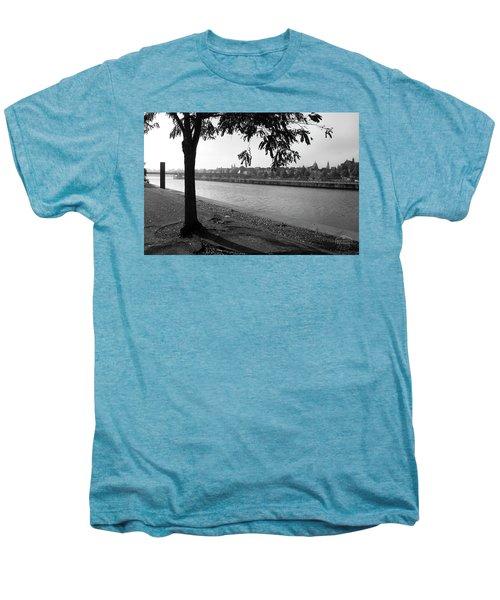 Skyline Maastricht Men's Premium T-Shirt by Nop Briex