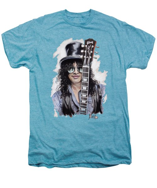 Slash 1 Men's Premium T-Shirt by Melanie D