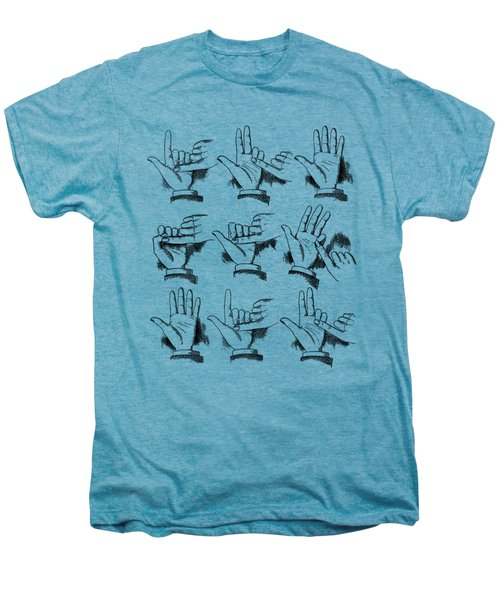 Slight Of Hand Men's Premium T-Shirt by Edward Fielding