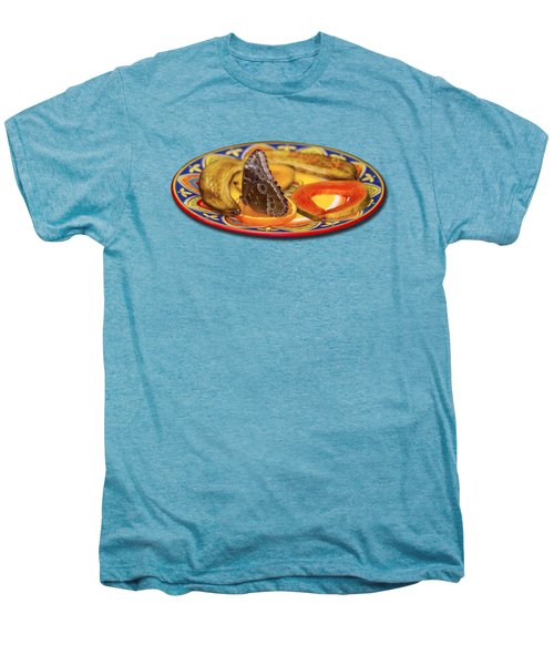 Snacking Butterfly Men's Premium T-Shirt by Bob Slitzan