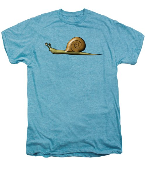 Snail Men's Premium T-Shirt by Michal Boubin