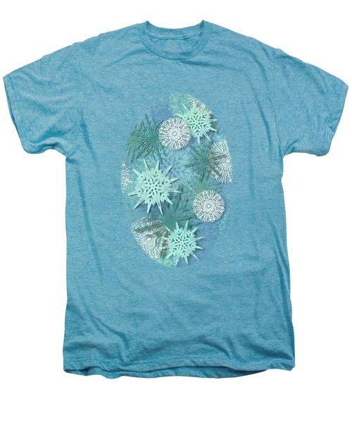 Snowflakes Men's Premium T-Shirt by AugenWerk Susann Serfezi