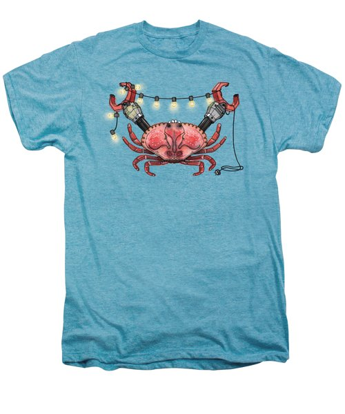 So Crabby Chic Men's Premium T-Shirt by Kelly Jade King