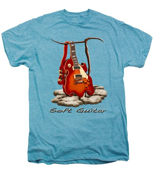 Soft Guitar - 3 Men's Premium T-Shirt
