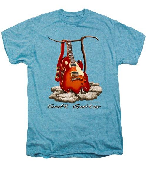 Soft Guitar - 3 Men's Premium T-Shirt