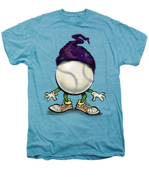 Softball Wizard Men's Premium T-Shirt by Kevin Middleton