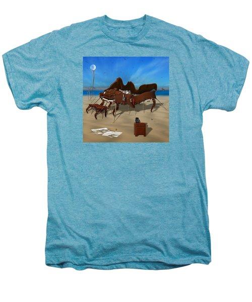 Softe Grand Piano Se Sq Men's Premium T-Shirt by Mike McGlothlen