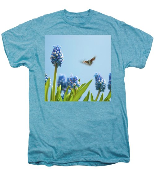 Something In The Air: Peacock Men's Premium T-Shirt