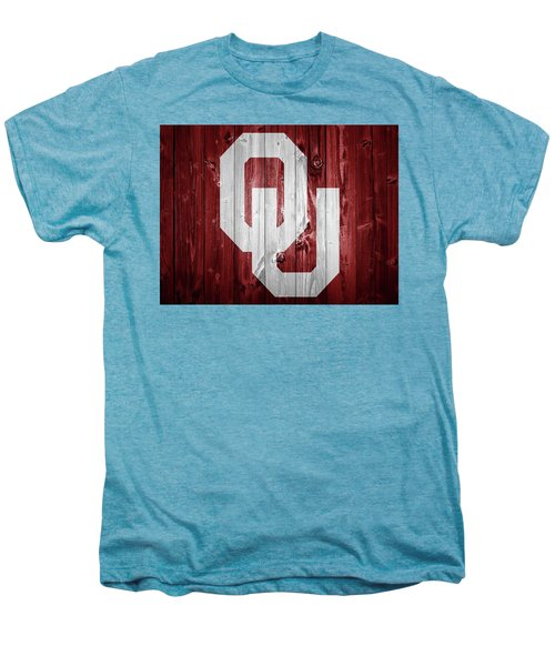 Sooners Barn Door Men's Premium T-Shirt by Dan Sproul