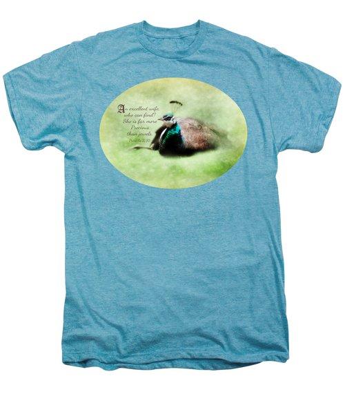 Sophisticated - Verse Men's Premium T-Shirt by Anita Faye