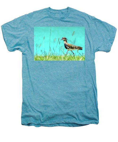 Southern Lapwing Men's Premium T-Shirt by Randy Scherkenbach